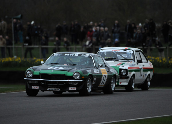 2017 75th Members Meeting Goodwood Estate, West Sussex,England 18th - 19th March 2017 Gerry Marshall Trophy Stuart Graham Camaro World Copyright : Jeff Bloxham/LAT Images Ref : Digital Image