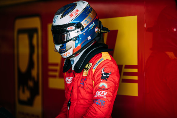 Bahrain International Circuit, Sakhir, Bahrain. Wednesday 29 March 2017 Gustav Malja (SWE) Racing Engineering Photo: Malcolm Griffiths/FIA Formpula 2 ref: Digital Image MALC4287 2