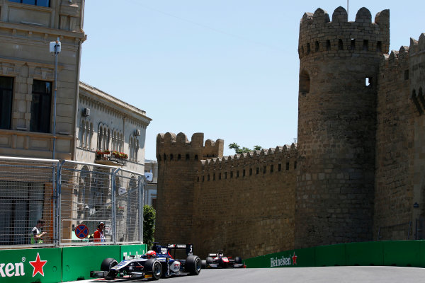 Baku City Circuit, Baku, Azerbaijan. Saturday 24 June 2017. Luca Ghiotto (ITA, RUSSIAN TIME)  World Copyright: Hone/LAT Images ref: Digital Image _ONY9686