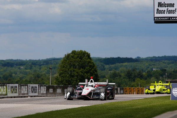 Verizon IndyCar Series Kohler Grand Prix Road America, Elkhart Lake, WI USA Sunday 25 June 2017 Helio Castroneves, Team Penske Chevrolet World Copyright: Phillip Abbott LAT Images ref: Digital Image abbott_elkhart_0617_7901