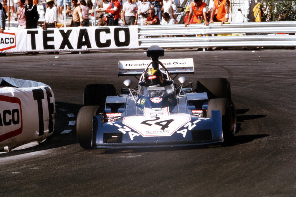 Monte Carlo, Monaco.31/5-3/6 1973.  Carlos Pace (Surtees TS14A Ford).  World Copyright - LAT Photographic