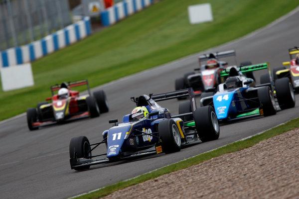 2016 BRDC F3 Championship, Donington Park, Leicestershire. 10th - 11th September 2016. Ricky Collard (GBR) Carlin BRDC F3. World Copyright: Ebrey / LAT Photographic.