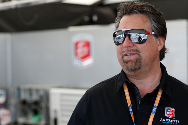 2014/2015 FIA Formula E Championship. Michael Andretti - Andretti President, Chairman and CEO.  Long Beach ePrix, Long Beach, California, United States of America. Saturday 4 April 2015  Photo: Al Staley/LAT/Formula E ref: Digital Image _79P0616