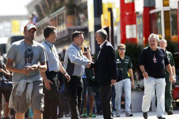 Circuit de Catalunya, Barcelona, Spain. Friday 9 May 2014. Paul Hembrey, Director, Pirelli Motorsport. World Copyright: Charles Coates/LAT Photographic. ref: Digital Image _N7T8338