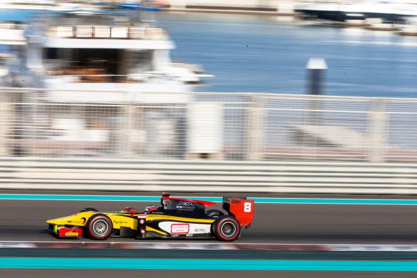 2014 GP2 Series Test 1  Yas Marina Circuit, Abu Dhabi, UAE.  Wednesday 12 March 2014. Stephane Richelmi (MON) DAMS  Photo: Malcolm Griffiths/GP2 Series Media Service ref: Digital Image F80P5064