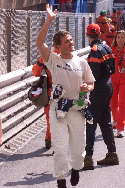 2000 Monaco Grand Prix.Monte Carlo, Monaco.1-4 June 2000.Ralf Schumacher (Williams BMW).World Copyright - LAT Photographic