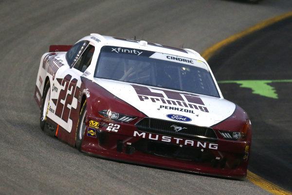 #22: Austin Cindric, Team Penske, Ford Mustang LTi Printing