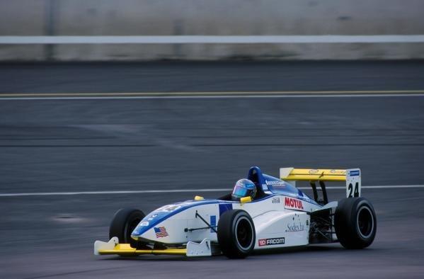 Julien Piguet (FRA) claimed 2nd place in both races.Rockingham, England, 11 November 2001BEST IMAGE