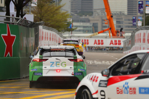 Sérgio Jimenez (BRA), Jaguar Brazil Racing leads Yaqi Zhang (CHI), Team China