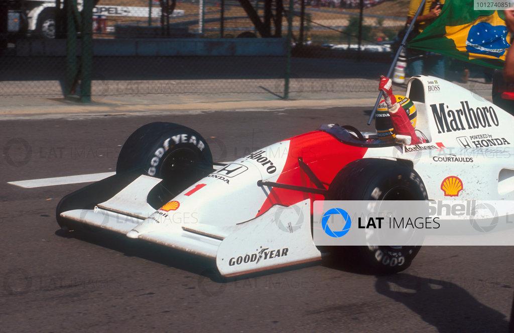 1992 Hungarian Grand Prix.