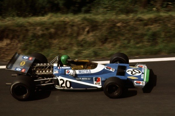 1970 French Grand Prix.Clermont-Ferrand, France.3-5 July 1970.Henri Pescarolo (Matra-Simca MS120) 5th position.Ref-70 FRA 35.World Copyright - LAT Photographic