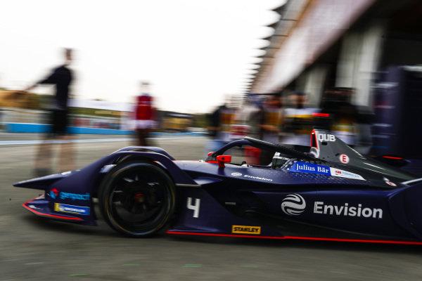 Amna Al Qubaisi (UAE), Envision Virgin Racing, Audi e-tron FE05, leaves the garage