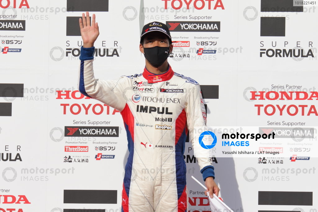Winner Ryo Hirakawa, ITOCHU ENEX TEAM IMPUL