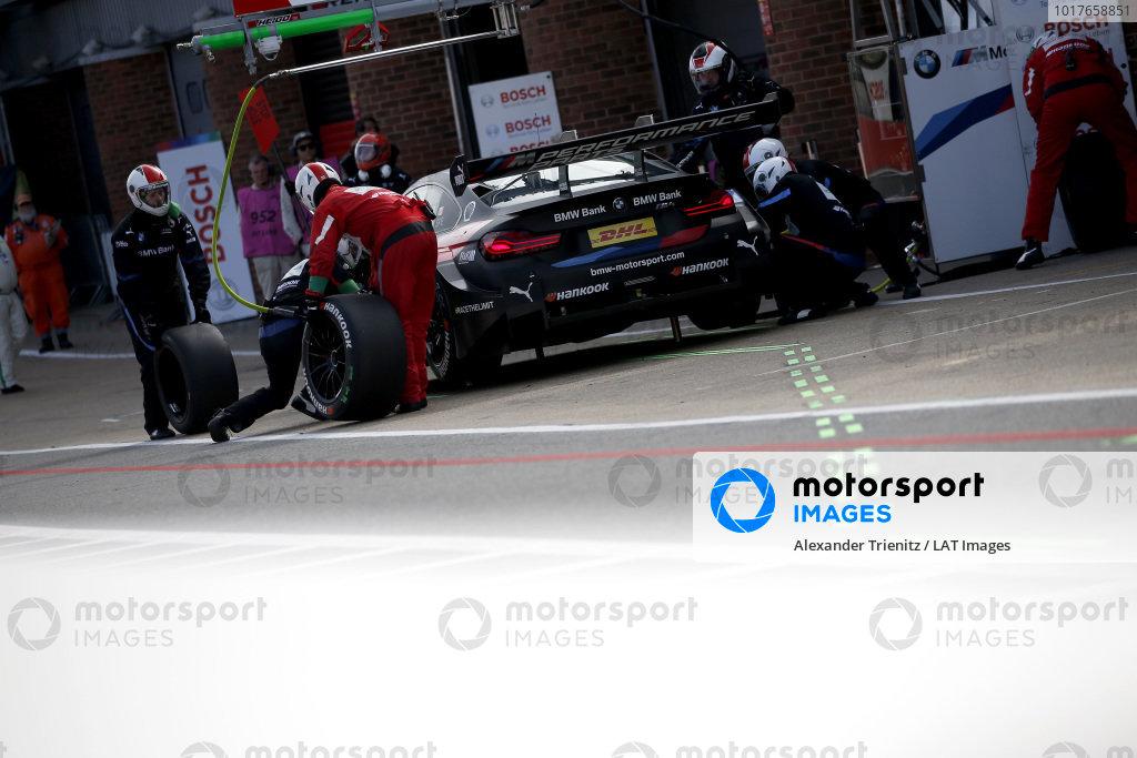 Pit stop, Bruno Spengler, BMW Team RMG, BMW M4 DTM.