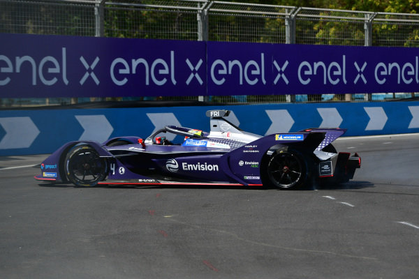 Robin Frijns (NLD), Envision Virgin Racing, Audi e-tron FE06, spins