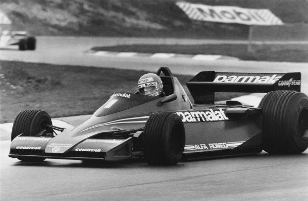 Osterreichring, Zeltweg, Austria. 11th - 13th August 1978. Niki Lauda (Brabham BT46-Alfa Romeo), retired, action. World Copyright: LAT Photographic. Ref: B/W Print.