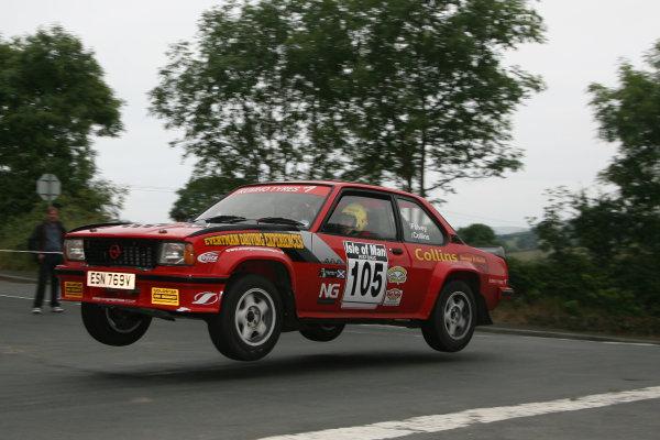 Manx International Historic Rally, Isle of Man 10th-11th July,Phil Collons, Opel AsconaWorld Copyright: Jakob Ebrey/LAT Photographic