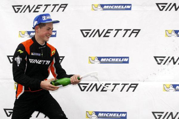 2014 Ginetta Junior Championship, Donington Park, 19-20 April 2014, xxxx World Copyright Ebrey/LAT Photographic