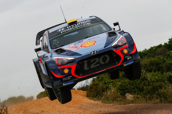 Andrea Mikkelsen aims to make up for lost ground in the WRC Championship race