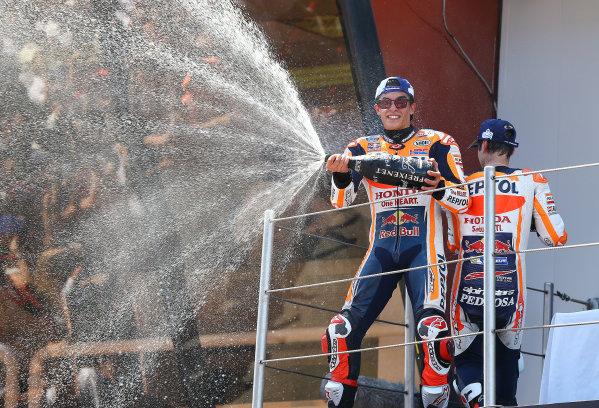 2017 MotoGP Championship - Round 7 Circuit de Catalunya, Barcelona, Spain Sunday 11 June 2017 Marc Marquez, Repsol Honda Team World Copyright: Gold & Goose Photography/LAT Images ref: Digital Image 677079