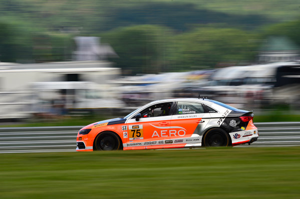 IMSA Continental Tire SportsCar Challenge Lime Rock Park 120 Lime Rock Park, Lakeville, CT USA Friday 21 July 2017 75, Audi, Audi S3, ST, Roy Block, Pierre Kleinubing World Copyright: Gavin Baker LAT Images