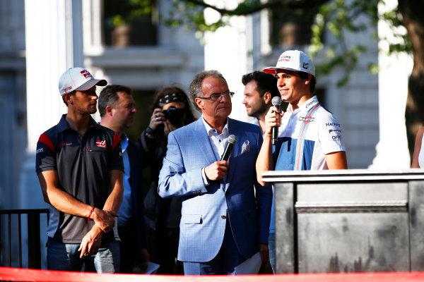 Circuit Gilles Villeneuve, Montreal, Canada. Wednesday 7 June 2017. Lance Stroll, Williams Martini Racing.  World Copyright: Hone/LAT Images ref: Digital Image _ONZ1184