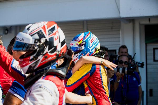 2017 GP3 Series Round 4.  Hungaroring, Budapest, Hungary. Sunday 30 July 2017. Ryan Tveter (USA, Trident).  Photo: Zak Mauger/GP3 Series Media Service. ref: Digital Image _54I4370
