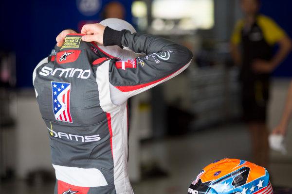 2016 GP3 Series Testing.  Spielberg, Austria. Red Bull Ring,  Wednesday 8th June 2016 . Santino Ferrucci (USA, Dams).  Photo: Alastair Staley/GP3 Media Service  ref: 580A9104