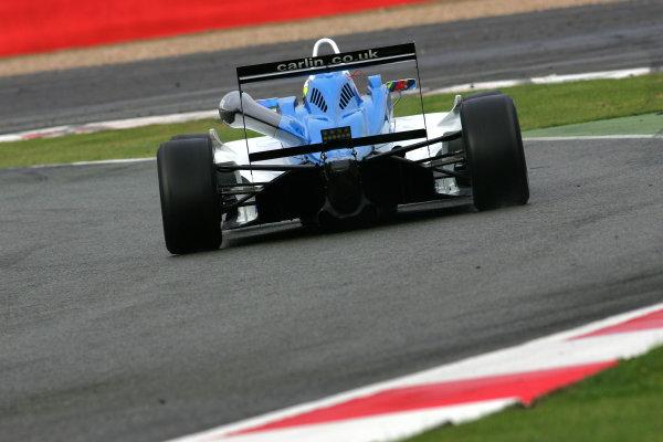 Silverstone, Northamptonshire. 7th - 9th October 2011.Carlos Huertas (COL) Carlin Dallara Volkswagen.World Copyright: Ebrey/LAT Photographic.