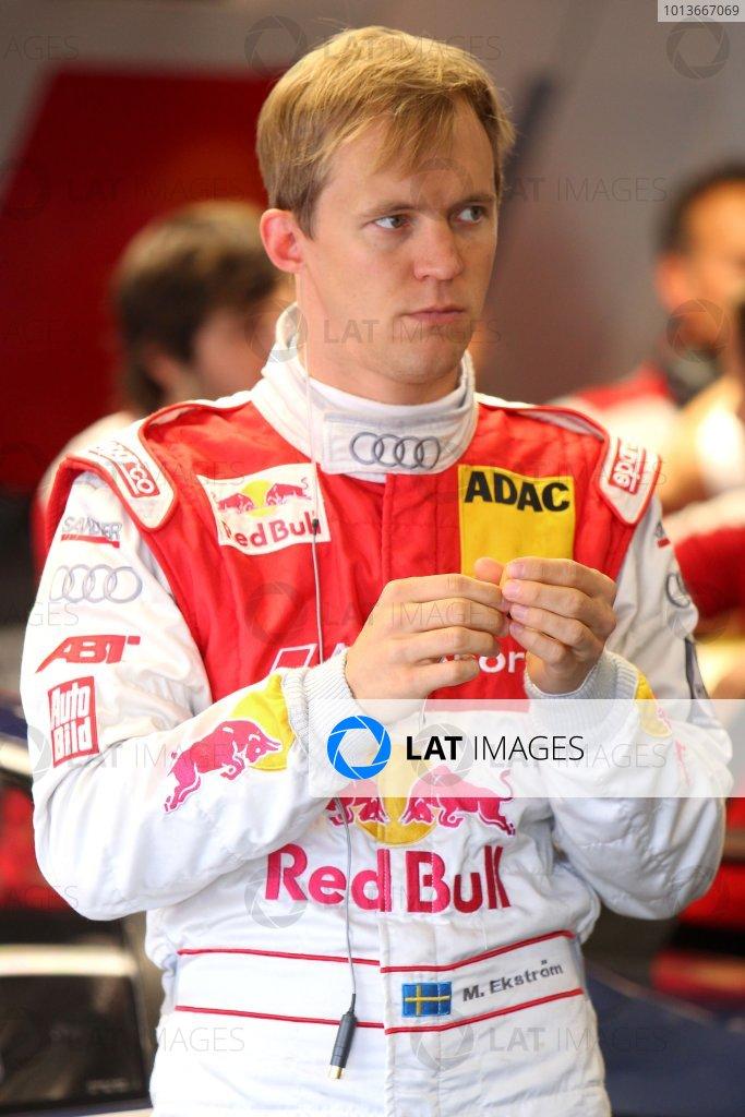 Mattias Ekstrom (SWE), Audi Sport Team Abt Sportsline.DTM, Rd8, Oschersleben, Germany, 16-18 September 2011 Ref: Digital Image dne1117se568