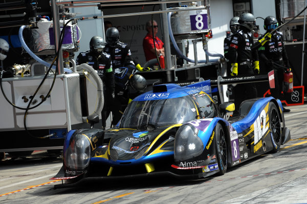 2017 European LeMans Series, Monza, Italy. 12th-14th May 2017 Maxime Pialat (FRA) / Vincent Beltoise (FRA) / Henry Hassid (FRA) - DUQUEINE ENGINEERING - Ligier JS P3 ? Nissan World copyright. JEP/LAT Images