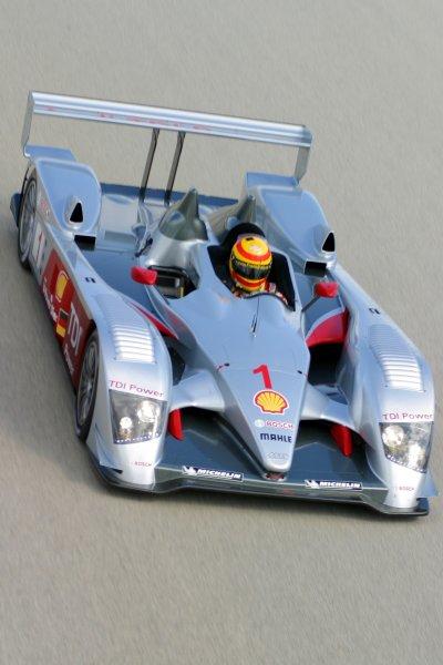 JANUARY 23-25, 2006, SEBRING INTERNATIONAL RACEWAY,   FRANK BIELA, NO 1 AUDI R10   ©2006, GREG ALECK/LAT