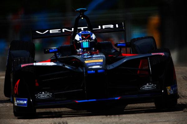2016/2017 FIA Formula E Championship. Hong Kong ePrix, Hong Kong, China. Sunday 9 October 2016. Maro Engel (GER), Venturi, Spark-Venturi, Venturi VM200-FE-02.  Photo: Zak Mauger/LAT/Formula E ref: Digital Image _L0U1555