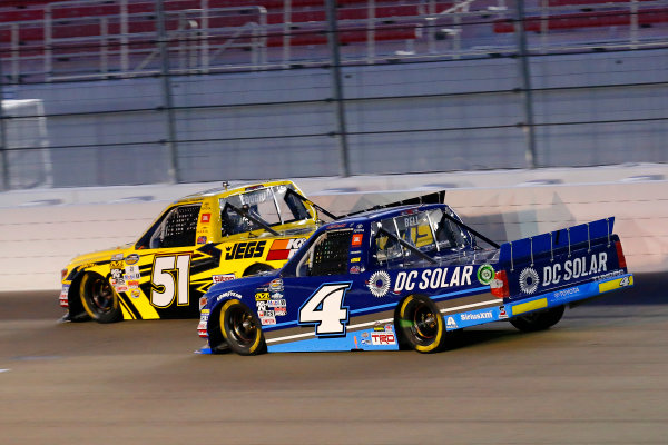 1 October, 2016, Las Vegas, Nevada USA Cody Coughlin and Christopher Bell ?2016, Russell LaBounty LAT Photo USA