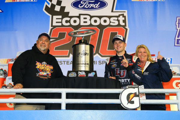 18 November, 2016, Homestead, Florida USA William Byron wins Ford EcoBoost 200 ©2016, Jim Fluharty / LAT Photo USA