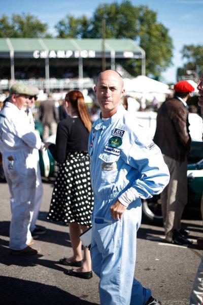 2016 Goodwood Revival Meeting. Goodwood Estate, West Sussex, England.  9th - 11th September 2016 Jack Brabham Tribute Parade David Brabham.  World Copyright: Will Elliott / LAT Photographic.  Reference: _DG27888