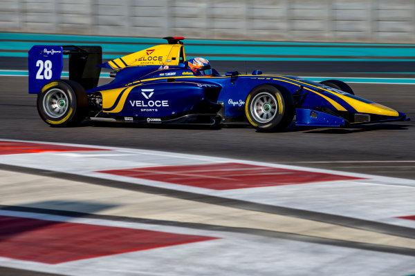 2016 GP3 Series Test 5. Yas Marina Circuit, Abu Dhabi, United Arab Emirates. Thursday 1 December 2016. Tarun Reddy (IND, DAMS)  Photo: Zak Mauger/GP3 Series Media Service. ref: Digital Image _X0W2130