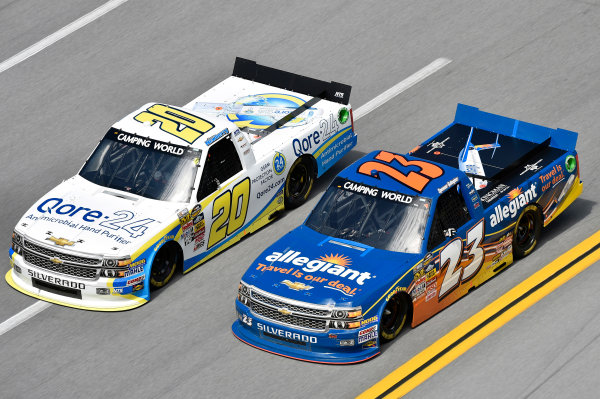 17-18 October, 2014, Talladega, Alabama USA Spencer Gallagher and Brennan Newberry ? 2014, Nigel Kinrade LAT Photo USA
