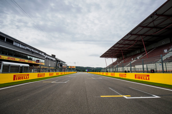 2017 GP3 Series Round 5.  Spa-Francorchamps, Spa, Belgium. Thursday 24 August 2017. A view of the track. Photo: Zak Mauger/GP3 Series Media Service. ref: Digital Image _54I9506