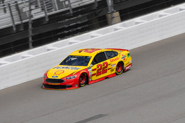 Monster Energy NASCAR Cup Series Pure Michigan 400 Michigan International Speedway, Brooklyn, MI USA Friday 11 August 2017 Joey Logano, Team Penske, Shell Pennzoil Ford Fusion World Copyright: Logan Whitton LAT Images