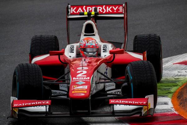 2017 FIA Formula 2 Round 9. Autodromo Nazionale di Monza, Monza, Italy. Saturday 2 September 2017. Antonio Fuoco (ITA, PREMA Racing).  Photo: Zak Mauger/FIA Formula 2. ref: Digital Image _T9I0279