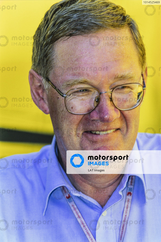 1998 German Grand Prix. Hockenheim, Germany. 31st July - 2nd August 1998. Alan Henry, journalist, portrait.  World Copyright: LAT Photographic.
