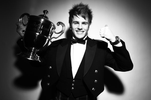 Grosvenor House Hotel, Park Lane, London 5th December 2010 Lewis Williamson, winner of the 2010 BRDC Award.World Copyright:Malcolm Griffiths/LAT Photographic ref: Digtal Image IMG_3909