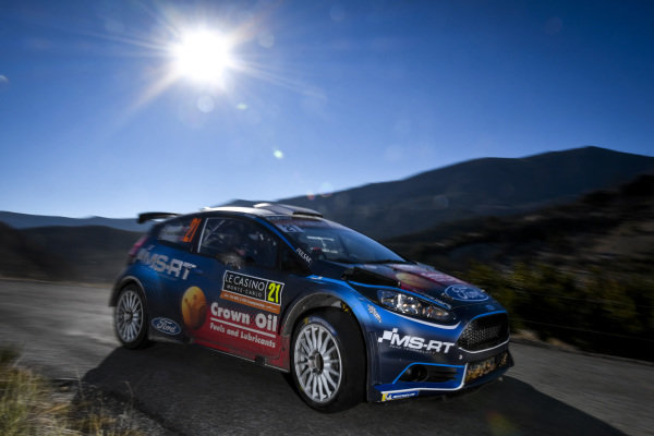 Gus Greensmith, M-Sport Ford WRC2 PRO, Ford Fiesta R5