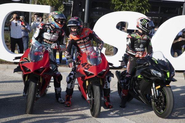 Chaz Davies, Team GoEleven, Scott Redding, Aruba.It Racing - Ducati