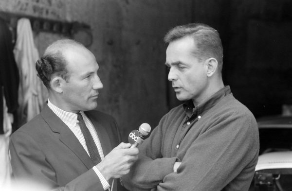 Stirling Moss interviews Phil Hill.