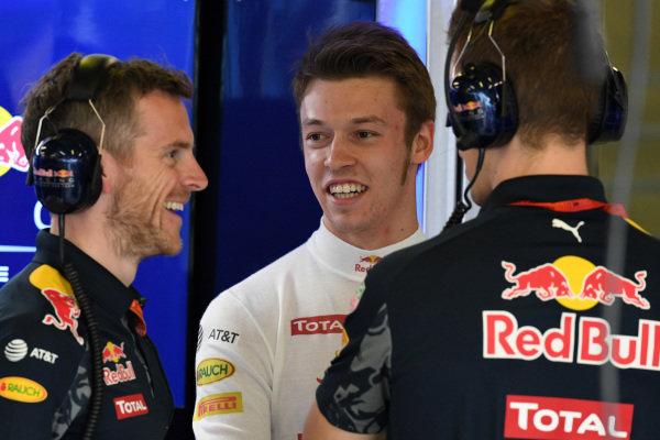 Daniil Kvyat (RUS) Red Bull Racing at Formula One World Championship, Rd1, Australian Grand Prix, Practice, Albert Park, Melbourne, Australia, Friday 18 March 2016.