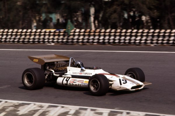 1970 Mexican Grand Prix.Mexico City, Mexico.23-25 October 1970.Pedro Rodriguez (BRM P153) 6th position.Ref-70 MEX 91.World Copyright - LAT Photographic
