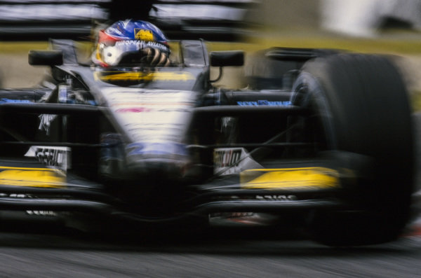 Fernando Alonso, Minardi PS01 European.