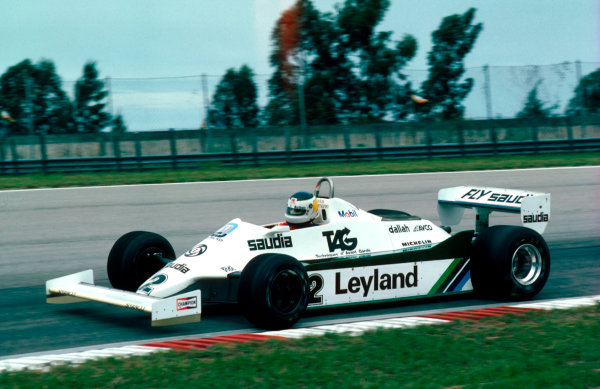 1981 Brazilian Grand Prix.Jacarepagua, Rio de Janeiro, Brazil.27-29 March 1981.Carlos Reutemann (Williams FW07C Ford) 1st position.Ref-81 BRA 04.World Copyright - LAT Photographic
